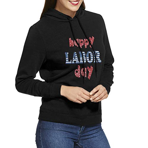 Battle Flag Square (Womens Hoodies Happy Labor Day America Flag Personalized Sweatshirts Hoodie Long Sleeve Shirt)