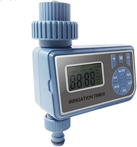 YQUC Energie Automatische elektronische LCD-Anzeige Start-Kugelhahn Wasser-Timer Gartenbewässerung Timer Bewässerungssteuerungssystem (Color : Natural)