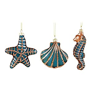 41IXt-P7neL._SS300_ 50+ Starfish Christmas Ornaments