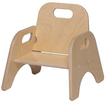 Amazon.com: Steffy productos de madera 5-Inch bebé silla ...