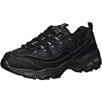 Skechers Women's D'Lites New School Sneaker (Black)