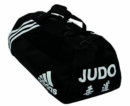 hot products fashion best adidas adiacc050 Sac de Judo Unisexe Noir/Blanc 55 x 29 x 27 ...