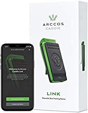 Arccos Golf Caddie Link - Automatically Track Your Shots Without Your Phone - Compatible with Arccos Caddie Smart Sensors, Smart Grips & Smart Sets, Black