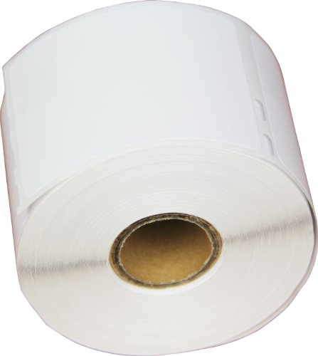 OfficeSmart 2-1/8 x 2-3/4 Inches Pharmacy, Veterinary, Name or Diskette Labels, 400 Labels Per Roll, Compatible with Dymo LabelWriter (30324)