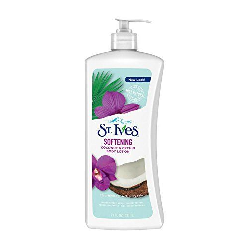 Body Care Softening (St. Ives Softening Body Lotion Coconut & Orchid Extract 21 oz (Pack of 6))