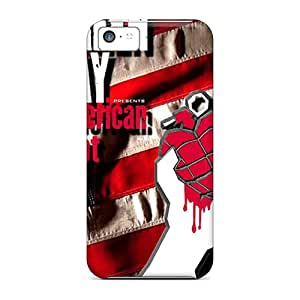 Premium Green Day Back Cover Snap On Case For Iphone 5c