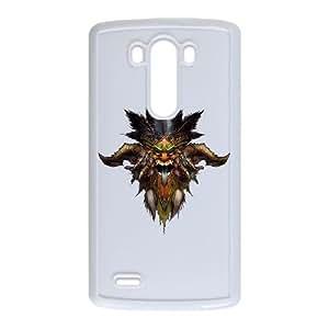 Diablo III LG G3 Cell Phone Case White 53Go-250937