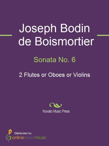 (Sonata No. 6 - Score)