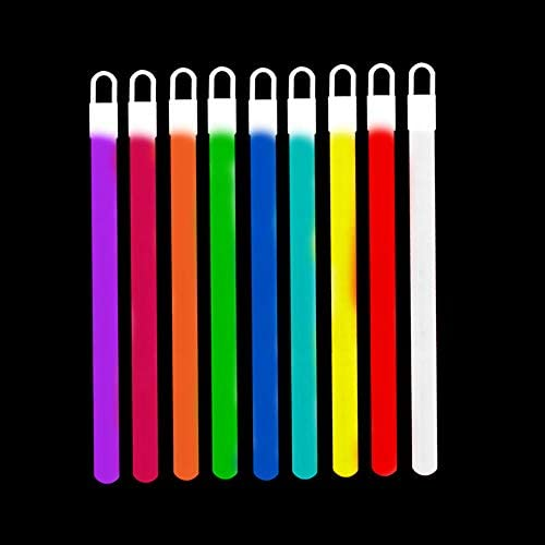 """with end caps and strings ships free 4/""""glow sticks light sticks white 200 pices"""