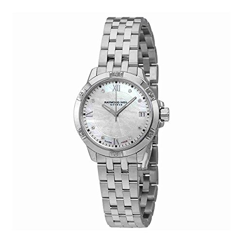 Raymond Weil Women's Swiss Quartz Stainless Steel Casual Watch, Color Silver-Toned (Model: ()