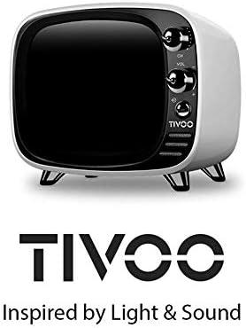 QOUP Altavoz Bluetooth, TV inalámbrica pequeña, Altavoz de Tarjeta Doble Indicación de Voz One Touch Audio Pixel LED Temporizador / 48 Efectos de Mezcla/Llamada/Blanco: Amazon.es: Hogar