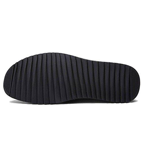 Mocassini Scarpe Moda Uomo Short Tacco COOLCEPT Boots 22 Basso Gold OCq1xwqna5