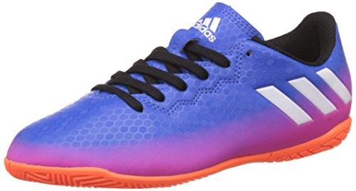 adidas Messi 16.4 In, Zapatillas de Fútbol Unisex Niños Azul (Blue/ftw White/solar Orange)