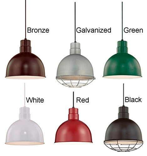 Galvanized Industrial Pendant Antique Warehouse