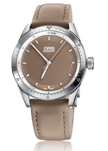 Oris Artix GT Brown Dial Brown Leather Ladies Watch 01 733 7671 4152-07 5 18 41FC
