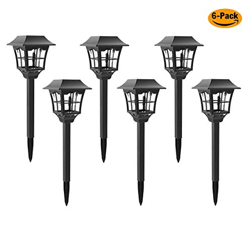 Solar Pathway Lights Outdoor or Solar Lights Outdoor or Solar Garden Lights or Solar Landscape Lights or Solar Lights for Yard/Patio/Walkway/Driveway/Lawn/décor (6)