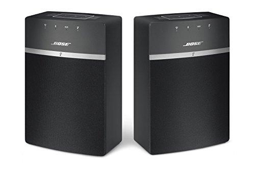 Bose SoundTouch 10 x 2 Wireless Starter Pack, Black