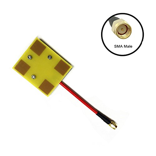 - Crazepony FPV 5.8G Panel Antenna 14dBi High Gain SMA Male RX for RC Multicopter