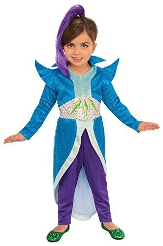 - Rubie's Costume Shimmer and Shine Child's Zeta The Sorceress Costume, Multicolor, X-Small