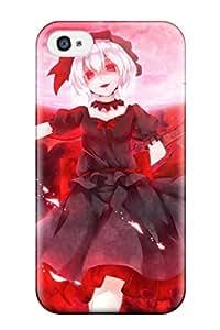 timothy e richey's Shop 7034457K751909110 animal bat dabadhi moon remilia scarlet vampire Anime Pop Culture Hard Plastic iPhone 4/4s cases