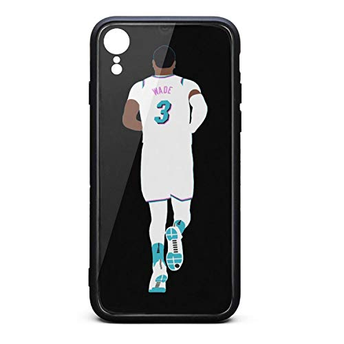 3D Phone Cases for iPhone Xr Non-Slip Shockproof Ultra Slim Fashionable Perfectly Fit Tempered Glass Back Covers Durable PC TPU Hybrid Protective Shock Absorption Glossy