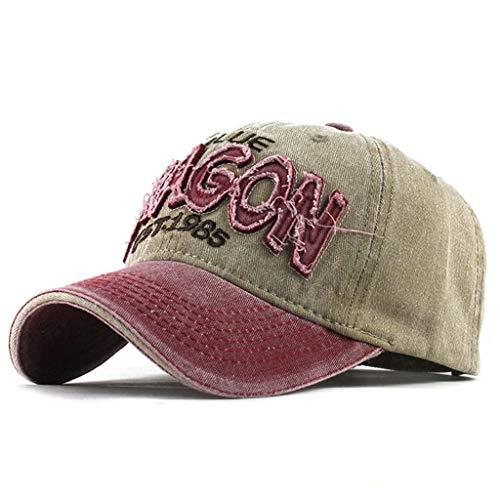 [해외]남성을 위한 낚시 야구 모자, 트로 네트 여성 망 면 자 수 유 니 섹스 야구 모자 조절 가능 / Fishing Baseball caps for Men,Tronet Womens Mans Cotton Embroidered Unisex Baseball Caps Adjustable
