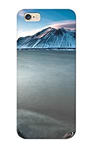 Chishagess Durable Defender Case For Iphone 6 Plus Tpu Cover(foggy Mountain Lake) Best Gift Choice