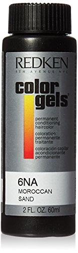 Redken Color Gels Permanent Conditioning 6NA Moroccan Sand for Unisex 2 Oz, 2 - Sand Moroccan