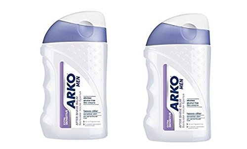 Arko Men SENSITIVE After shave balm 150 ml (Pack of 2) Evyap