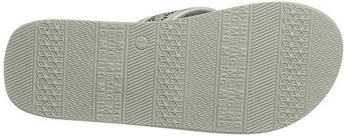 Mustang 1243-701-21, Sandalias de Punta Descubierta para Mujer Plateado (21 Silber)
