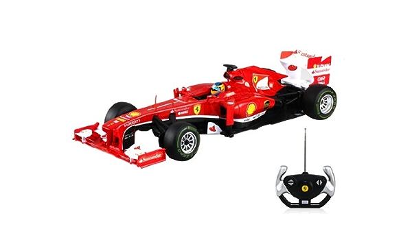 Rastar 57400 01:12 4 canales Ferrari F138 RC Car Model (rojo ...