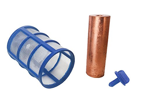 NMG Copper Anode and Basket Replacement for Solar Pool Ionizer - IMPORTANT: check description for compatibility from NMG