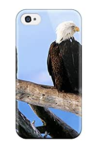 New Style Case Cover WNPVfKR9703DtsbW Wild And Free Bald Eagles Compatible With Iphone 4/4s Protection Case