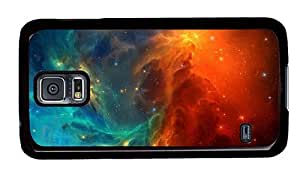 Hipster sell Samsung Galaxy S5 Cases space nebula stars PC Black for Samsung S5