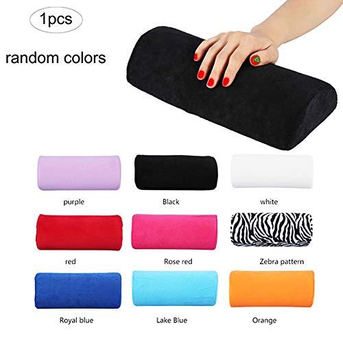 Beito 1 stück Handauflage Armauflage Handablage Handkissen für Gelnägel Nagellack Nageldesign Accessories Nail Zubehör(Zufällige Farbe)