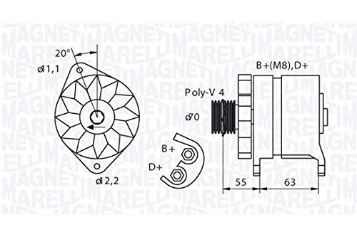 Magneti Marelli 063321395010 Alternatore