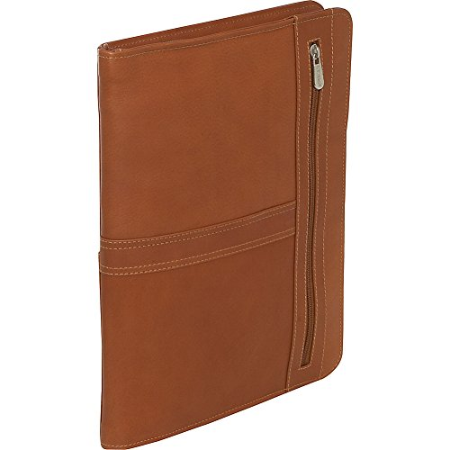 Piel Leather Three-Way Envelope Padfolio, Saddle, One Size