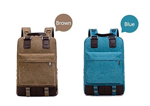 Mefly Männer Reisen Fashion Taschen Frauen Leinwand Schulter Rucksack Mädchen Große Multifunktionale Tasche Männer Rucksäcke, Bp 75800 Bu, China