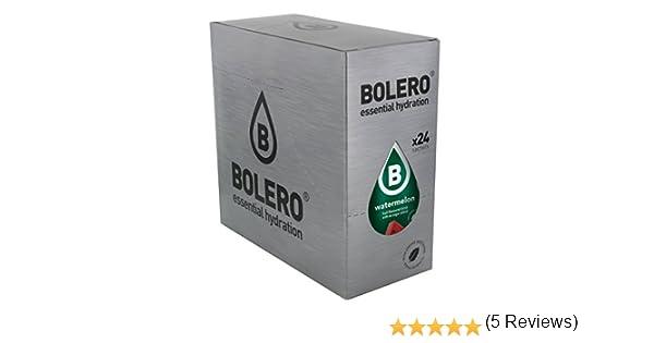 Bolero Bebida Instantánea sin Azúcar, Sabor Sandía - Paquete de 24 x 9 gr - Total: 216 gr: Amazon.es: Salud y cuidado personal