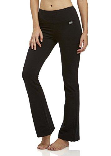 Marika Women's Audrey Tummy Control Pant Long 34' Inseam, Black, XL