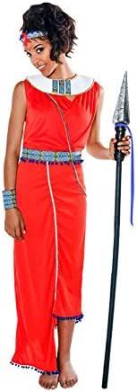 Disfraz de Guerrera Masai para mujer: Amazon.es: Juguetes y juegos
