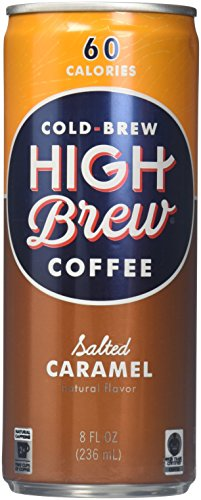 High Brew Coffee Salted Caramel 8oz. (Pack of - Outlets Shopping Austin