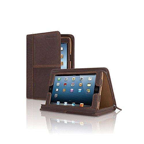 Solo Madison Leather Padfolio for iPad Mini, Espresso