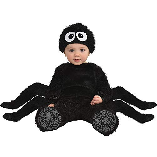 Party City Spider Crawler Halloween Costume for Babies, 12-24 Months, Includes Accessories ()