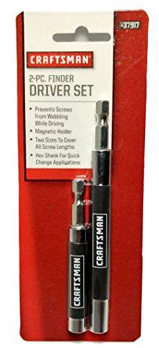 Craftsman SRS37917A Finder Driver Set with Magnetic Holder & Finder Drivers 80mm & 120mm Lengths (2 Piece)