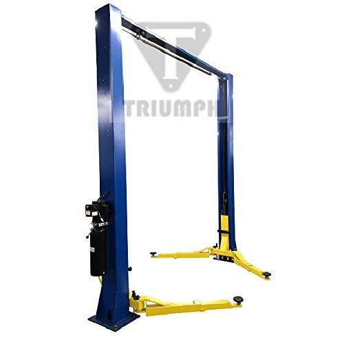 TRIUMPH NTO-9AE Economy 9000Lbs Two Post Clear Floor Lift ()