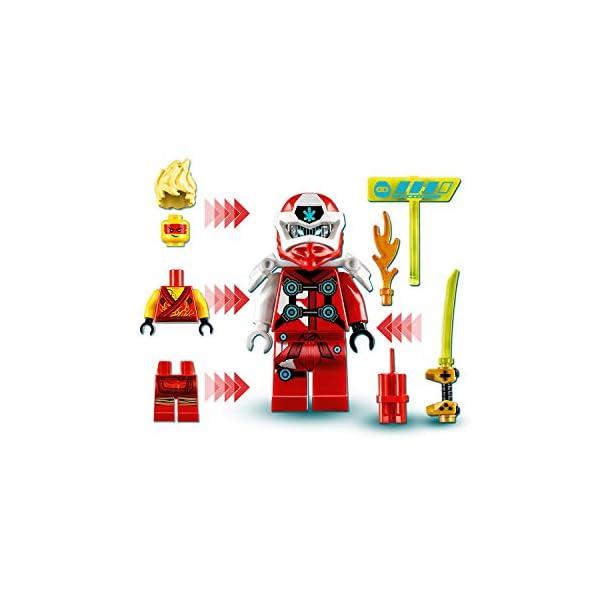 LEGO Ninjago Avatar di Kai Pod Sala Giochi, Set di Costruzioni con 2 Personaggi Digi Kai e la Minifigure di Avatar Kai… 4 spesavip