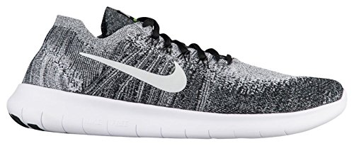 Nike Men's Free Run Flyknit 2017 Training Shoes Black (Black/white-volt) 0uljbVC