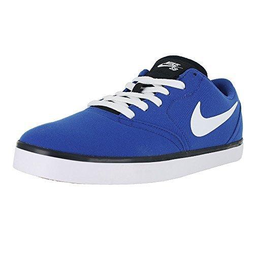 Nike SB Check Canvas Men's Skateboarding Shoes (9 D(M) US, Game Royal/White/Black) ()