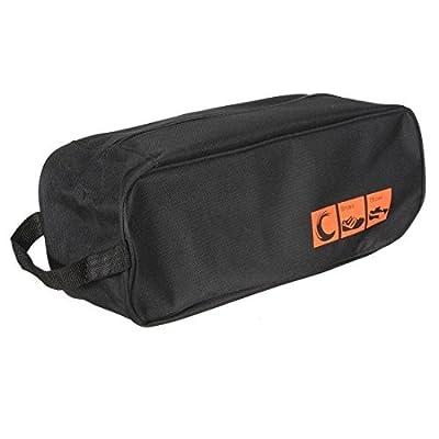 Dealglad® Portable Waterproof Zip Shoe Organizer Visual Breathable Travel Tote Storage Bag